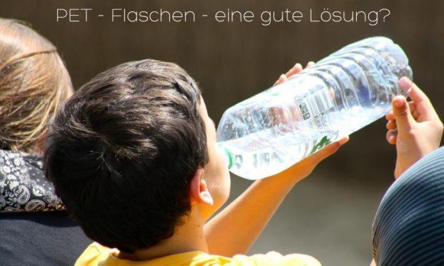 Nachdem wir das gesehen haben, trinken wir unser Wasser nie mehr aus PET-Flaschen