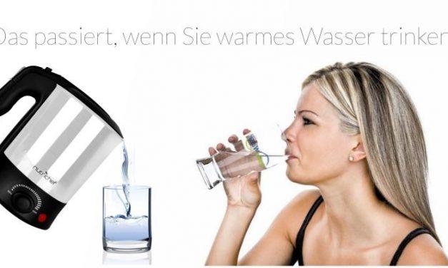 Trinken: Ist warmes Wasser gesünder?