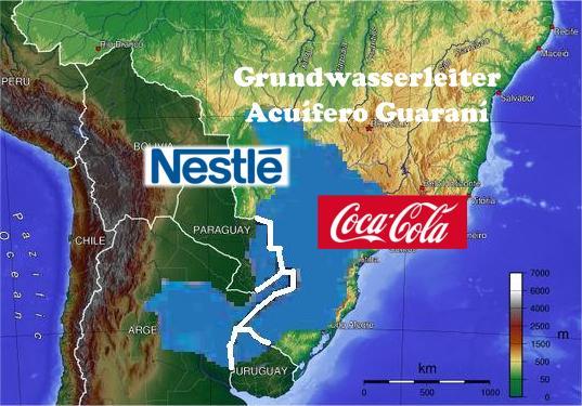 Grundwasserleiter Acuífero Guaraní