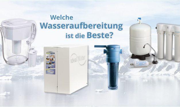 Wasseraufbereitung und Wasserfilter im Vergleich