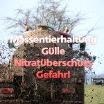 Nitrate im Grundwasser – eine Zeitbombe!