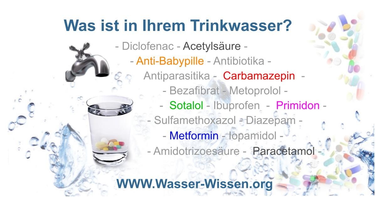 Stadtwerke warnen: Medikamente im Trinkwasser!