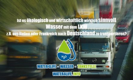 Die Water4Life Wassertankstellen